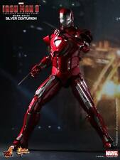 Hot Toys Iron Man 3 Silver Centurion Mark XXXIII MK 33 Sideshow Exclusive SEALED