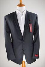 Alfani Red Charcoal Pinstriped Slim Fit Blazer Sportcoat 38L MSRP $350