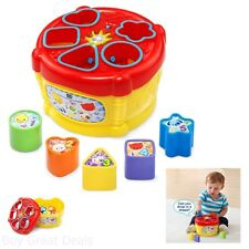 VTech Sort and Discover Drum, Kids Musical Education Learning Playing Toy, New