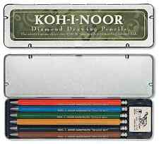 Koh i Noor Diamond mechanical clutch colour drawing pencil set, 2mm lead 5217