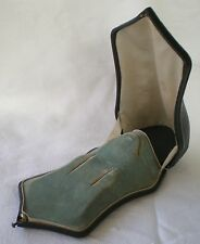 ANTIQUE VICTORIAN DOMED BOX CASE FOR BROOCH & EARRINGS  C 1890