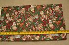 "By-the-Half-Yard, 44"" Wide, Santas with Gifts and Letters on Cotton, VIP, C1612"