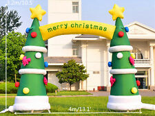 4m/13.1' Advertising Sales Promotion Inflatable Arch Christmas Tree Custom-made