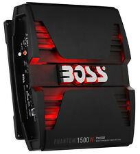 BOSS Audio PM1500 Phantom 1500W Monoblock, Class A/B Amplifier