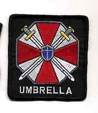 "Resident Evil Umbrella Corporation w Words Logo 3"" Embroidered Patch (REPA-102)"