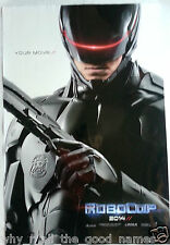 Movie Poster ROBOCOP Michael Keaton / Gary Oldman 2014 Action Crime Sci-Fi Film