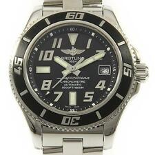 Authentic BREITLING A17364 A187B28PRS Super Ocean 42 Automatic  #260-001-799-...