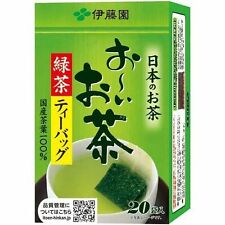 New ITOEN Ooi Ocha Green Tea bag 20 bags  From JAPAN  1pcs