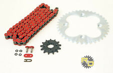 2005 2006 2007 2008 Honda TRX400EX TRX 400EX Red O Ring Chain And Sprocket 13/39