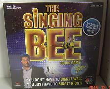 Singing BEE BOARD Game TV NEW Sealed 2007 FAST SHIP Music Song CD NBC Fast SHIP