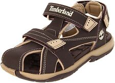 NEW Timberland Mad River Adventure Seeker 3-Strap Sandal Brown Tan Toddler 4M