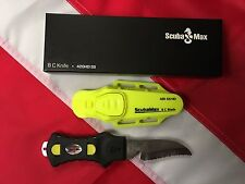 Stainless BCD knife scuba dive equipment KN-200NY spearfish diving gift yellow