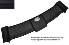 BLACK Stitch TOP TETTO APRIBILE pelle copertura adatta per smart forum 451 CONVERTIBILE 07-14
