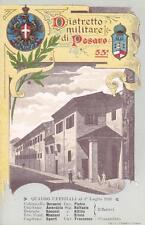 A5914) DISTRETTO MILITARE DI PESARO, QUADRO UFFICIALI DEL 1910.