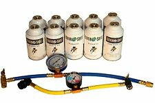 Auto/Home A/C Sealant Kit for R22 & R134a systems Ships INTERNATIONALLY #8125
