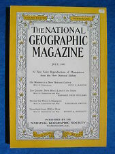 National Geographic Magazine July 1940 Vintage Ads Car Truck Advertising