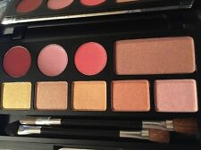 BORGHESE PALETTE SPRING IT ON 5 EYE SHADOW/1 BLUSH/ 3 LIPSTICKS  2 DUO BRUSHES