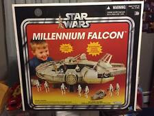 Hasbro Star Wars Millenium Falcon Kenner Replica Toys R Us Exclusive c2012-14