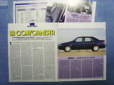 AUTO994-RITAGLIO/CLIPPING/NEWS-1994-VW PASSAT 1.8 GL EUROPE - 4 fogli