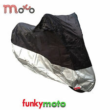 MOTORCYCLE SCOOTER DISCOUNT WATERPROOF BIKE CYCLE RAIN SUN COVER SIZE LARGE