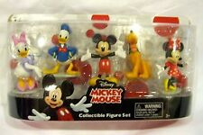 MICKEY MOUSE CLUBHOUSE FIGURINE PLAYSET-MICKEY,MINNIE,DONALD DUCK,DAISY&PLUTO