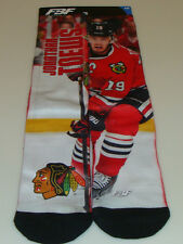 Chicago Blackhawks Jonathan Toews Hockey NHL Pair Socks Sublimated Large (10-13)