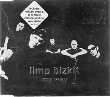 LIMP BIZKIT - MY WAY (3 tracks plus video, CD single)