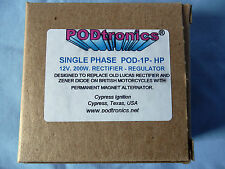 PODTRONICS 12V SINGLE PHASE 200W HIGH POWER RECTIFIER / REGULATOR  P/N POD-1P-HP