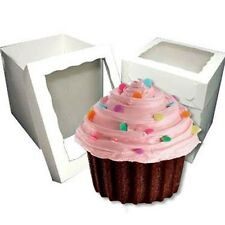 25 Giant Jumbo Big Cupcake Window Boxes ($4.50 per box)