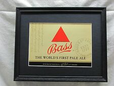 BASS PALE ALE  BEER SIGN  #907
