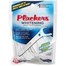 RIGHT ANGLE Flosser Plackers Dental Floss Picks 25 ct