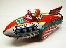 Tintoy, Blechspielzeug, Rocket Racer, Space Toy, Rakete 20 cm, MF 735 China, OVP