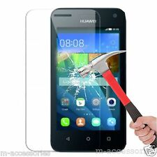 Real Tempered Glass Film Screen Protector for Huawei Y3 / Y360 Mobile Phone