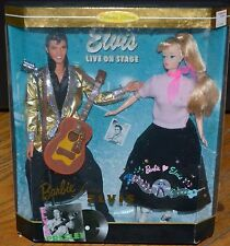 Barbie 1996 Barbie Loves Elvis on Stage NRFB