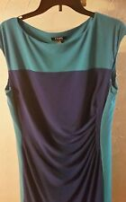 Chaps drees for women size L Purple and blue color.  Made in Philippines.R.$95.0