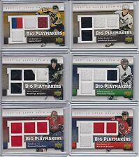 07/08 Upper Deck RAY BOURQUE Big Playmakers QUAD JERSEY / 50