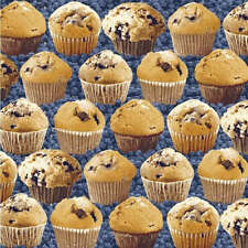 IN THE MIX BLUEBERRY MUFFINS CUP CAKE #1903 COTTON SEW BTY WINDHAM FABRIC