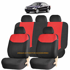 RED ELEGANT AIRBAG COMPATIBLE SEAT COVER for MERCEDES BENZ C M S CLASS