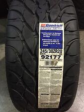 2 New 245 30 20 BFGoodrich g-Force T/A KDW Tires
