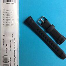 Casio uhrband negro wva-430, wva-470, wva-620, wv-m120e