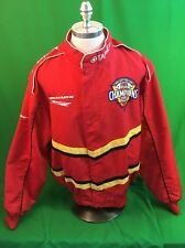Firestone Tires Chip Ganassi Racing Men's XL Red Windbreaker Jacket NASCAR