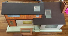 Tomy Smaller Home And Garden Doll House With Furniture