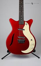 BRAND NEW DANELECTRO '59 VINTAGE SPECS 12 STRING RED METALLIC W/ CASE DANO