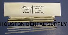 Disposable Dental Composite Polishing and Finishing Strips 100 Pcs/Bag 4 MM
