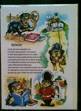 ROTTWIELER GREETINGS CARD