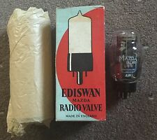 MAZDA EDISWAN UU8 RECTIFIER VALVE/TUBE. NOS WITH BOX
