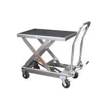 1000 Lbs. Capacity Hydraulic Table Cart- NIB Free Fedex To Lower 48 States