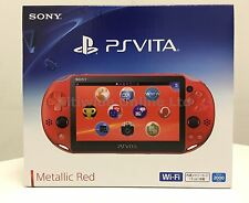 Sony Playstation PS Vita Wi-Fi Metallic Red PCH-2000ZA26 PCH-2000 2016 New Color