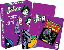 DC Comics Retro THE JOKER playing cards brand new sealed