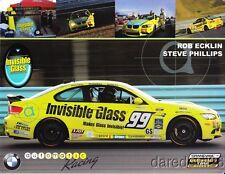 2013 Automatic Racing #99 M3 Coupe GS CTSC postcard